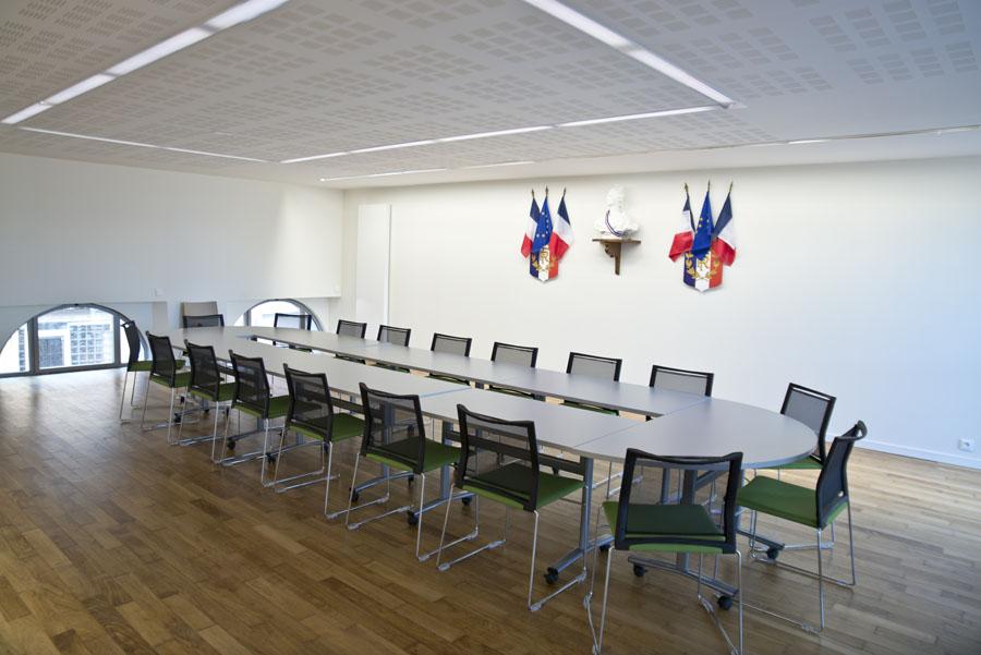 Salle de conseil de la mairie de Beure